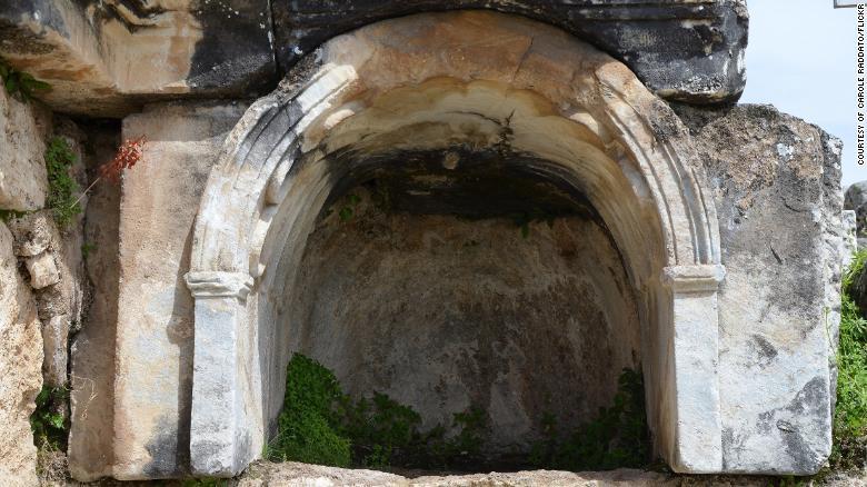 Entrance to the Plutonium