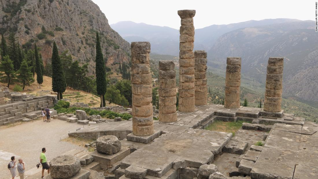 The Plutonium is not the only example of an ancient site centered around noxious fumes. Ancient literature suggests that at the Palace of Apollo in Delphi, Greece -- where the oracle once prophesied the future -- people would enter a trance after inhaling noxious fumes. Modern research puts this down to a mixture of carbon dioxide and methane coming from an earth fissure.