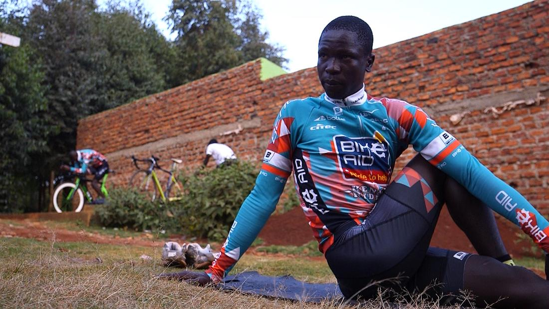 "The Kenyan cycling team, the ""Kenyan Riders,"" are aiming to be the first African team to qualify for the Tour de France (without wild card entry)."