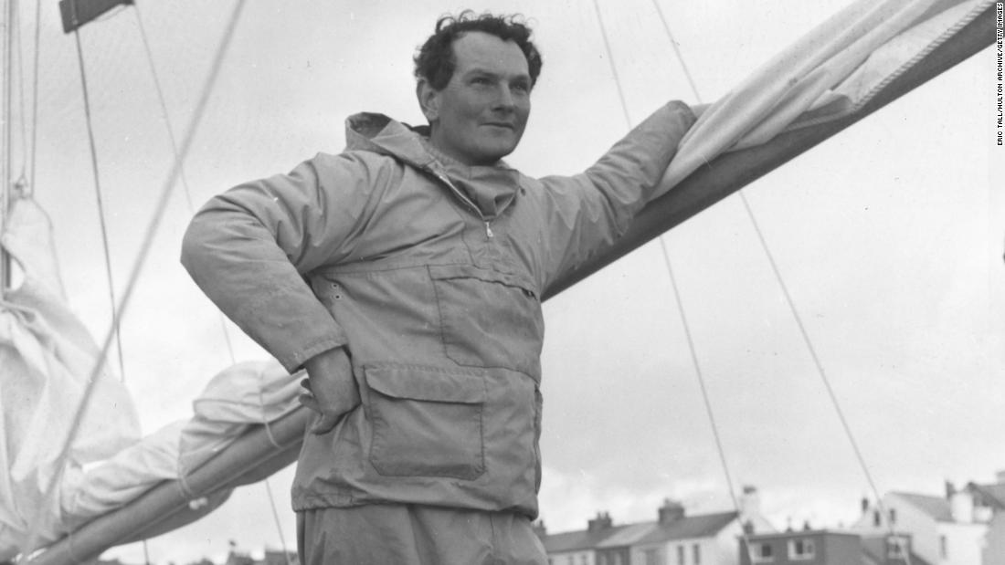 "Donald Crowhurst, a father of four with a dream and a rickety sailing boat, disappeared during the 1968 Golden Globe race. His tale has inspired two movies, including Hollywood blockbuster ""The Mercy."""