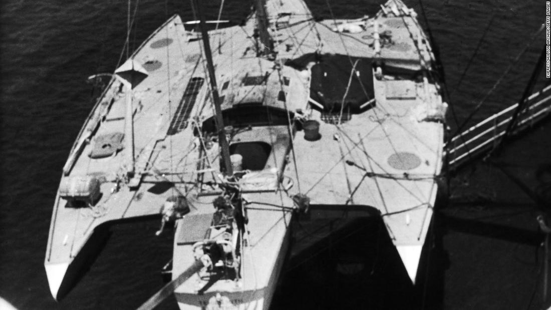 By July 1969, some 240 days after he set off from the British coast, Crowhurst's yacht, the Teignmouth Electron, was found drifting in the middle of the Atlantic with its captain nowhere to be found.
