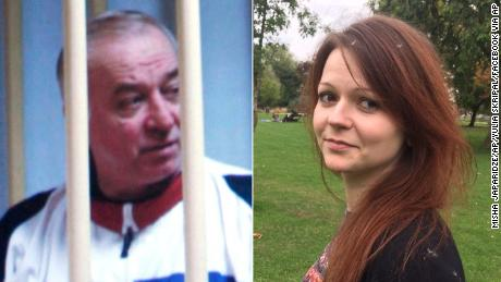 Yulia Skripal (R) is thought to be one of the few members of her father's (L) immediate family still alive.