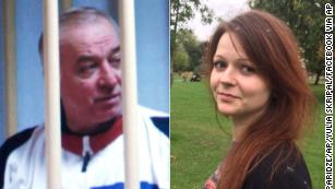 Hospitalized Russian spy linked to Russia-UK spy wars