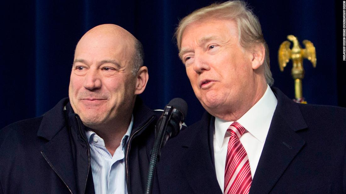 Trump says Gary Cohn could return to administration