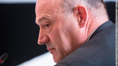 White House Chief Economic Advisor Gary Cohn participates in a meeting with state and local officials regarding the Trump infrastructure plan, February 12, 2018 at The White House in Washington, DC. Credit: Chris Kleponis / CNP ' NO WIRE SERVICE ' Photo by: Chris Kleponis/picture-alliance/dpa/AP Images