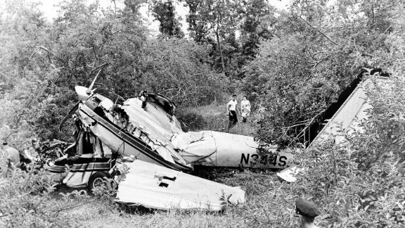 "JFK's brother Sen. Edward ""Ted"" Kennedy survived this deadly plane crash in Massachusetts in 1964."