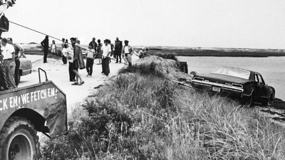Mary Jo Kopeckne died after Ted Kennedy drove off a bridge on Chappaquiddick Island in 1969.