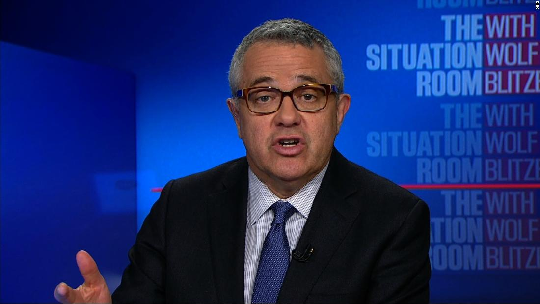 Toobin slams timing of Cohn