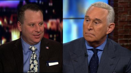 Former Trump campaign aide Sam Nunberg, at left, has been requested to appear before the Senate Intelligence Committee for and interview and to produce his communications with Roger Stone, pictured on the right, that relate to Russia, Wikileaks and Russian hacking.