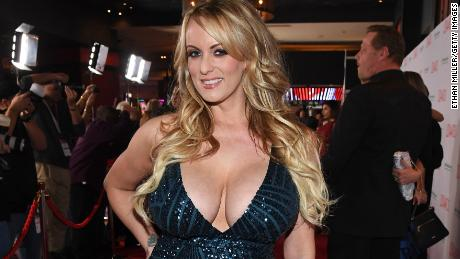 LAS VEGAS, NV - JANUARY 27:  Adult film actress/director Stormy Daniels attends the 2018 Adult Video News Awards at the Hard Rock Hotel & Casino on January 27, 2018 in Las Vegas, Nevada.  (Photo by Ethan Miller/Getty Images)