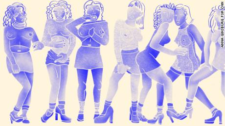 How the 'ideal' woman's body shape has changed throughout