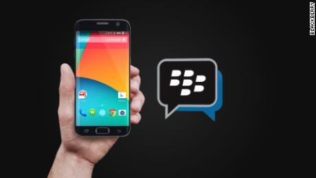 cnnee blackberry messenger