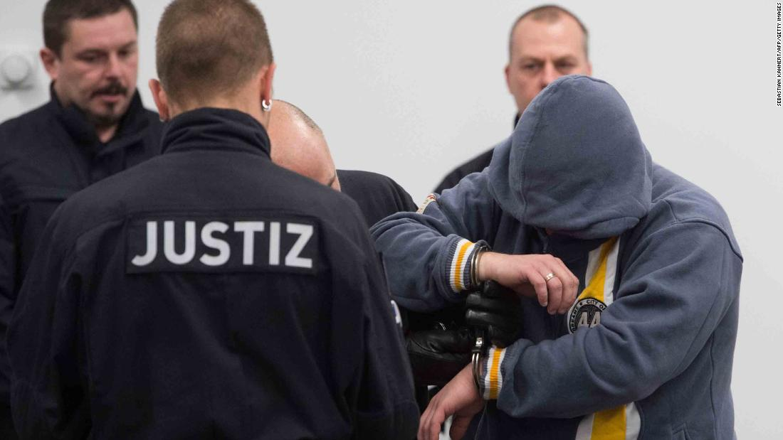 Eight sentenced to jail for right-wing terror crimes in Germany