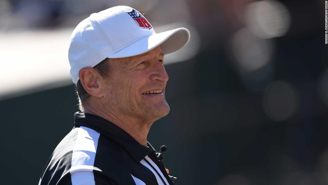 383152f33 Ed Hochuli: Longtime NFL ref retires as son Shawn is promoted - CNN