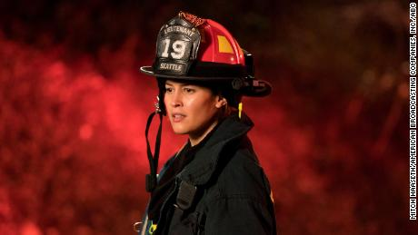Jaina Lee Ortiz in 'Station 19'