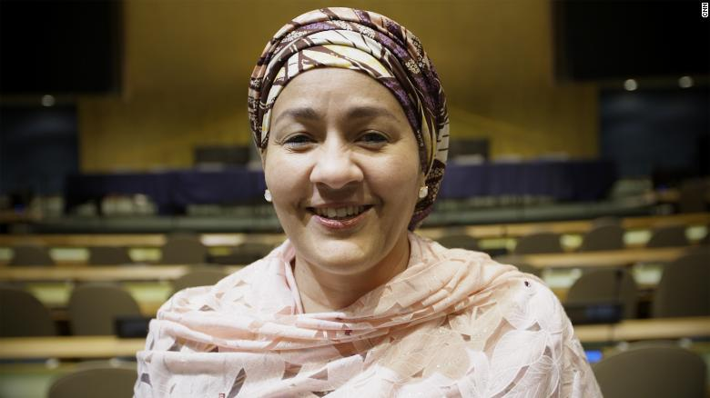 Amina Mohammed is Deputy Secretary-General of the United Nations and she's using her position to push for parity around the world.
