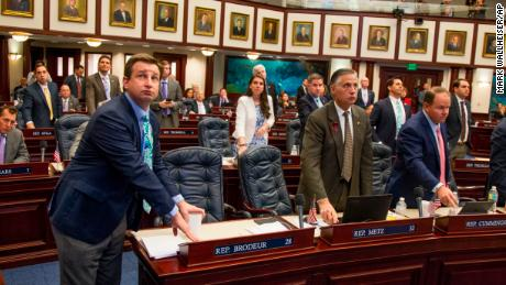 Florida legislature pass controverial bill
