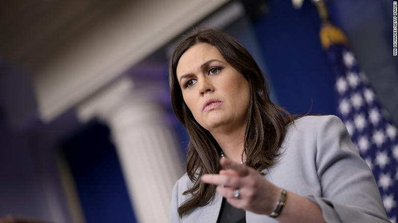 Sarah Sanders says -- as far as she knows -- Trump didn't know of porn star payment
