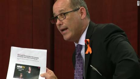fred guttenberg father victim nra video time running out senate hearing bts _00004103.jpg
