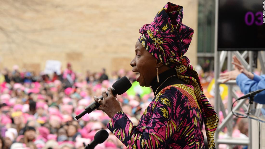Angelique Kidjo is a singer, songwriter and activist from Benin. She is one of Africa's most respected performers and has won three Grammy Awards in her wide-ranging career.