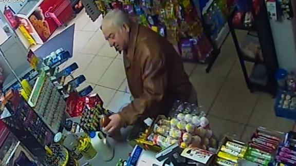 A CCTV image of Sergei Skripal from a local shop, where he was seen just days before his poisoning.