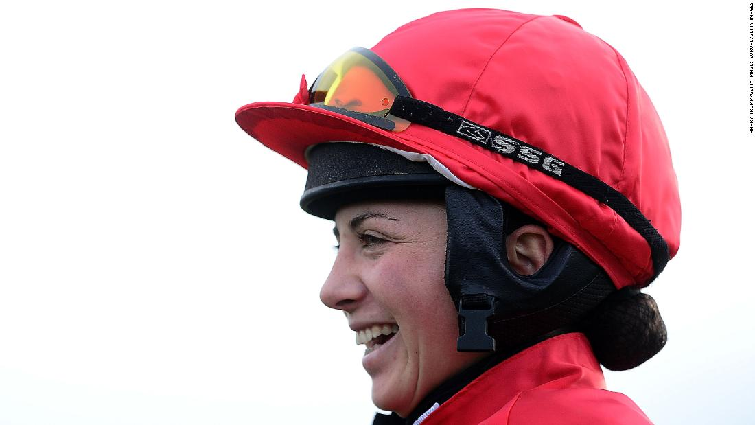 She may have only turned professional last July, but victories have come thick and fast for jockey Bryony Frost.