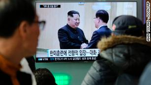 South Korean officials leave for US with message from North Korea to Trump