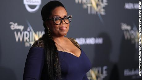 "Oprah Winfrey attends the premiere of Disney's ""A Wrinkle In Time""  on February 26, 2018 in Los Angeles, California."