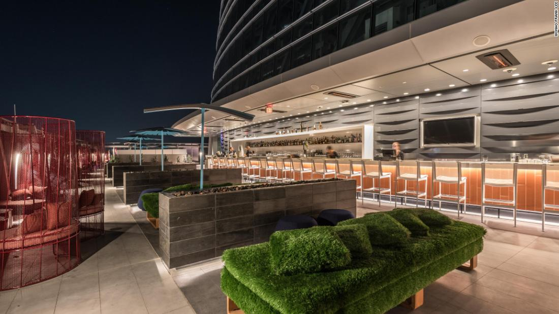 Highest open-air bar in the Western Hemisphere
