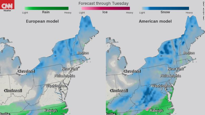 the new coastal storm threat comes after the second noreaster in a week left at least one person dead while hundreds of thousands of homes on the east