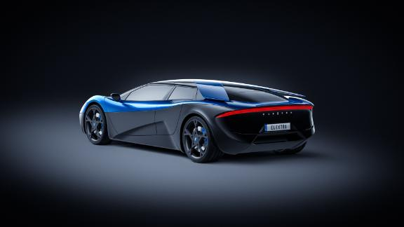 The Swiss-German built four-door car will have its top speed limited to 155mph (250 kph) but it boasts a range of over 600km on a single charge.