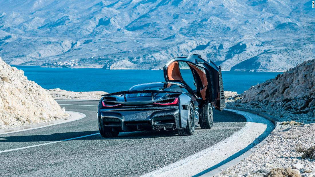 Designers claim the Concept Two has a range of over 400 miles (650km.) With facial recognition in lieu of a traditional key, it's one of numerous electric supercar concepts lighting up 2018.