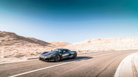 Able to accelerate from 0-60mph in just 1.85 seconds, the all-electric Rimac Concept Two is one of the fastest cars ever made.
