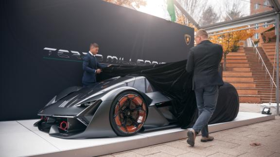 Designed in collaboration with the Massachusetts Institute of Technology, the new Lamborghini concept is like nothing else on the road.