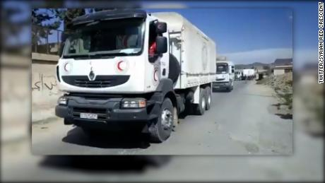 title: Syrian Red Crescent - #BREAKING: @SYRedCrescent,@ICRC & @UN get ready to enter #Eastern_Ghouta again and continue the delivery of Monday's #humanitarian #aid  convoy duration: 10:52:08 site: Twitter author: null published: Wed Dec 31 1969 19:00:00 GMT-0500 (Eastern Daylight Time) intervention: yes description: null