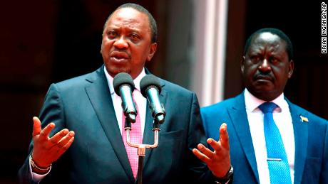 Kenyan President, opposition leader say feud over after months of tension