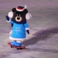 winter paralympics opening ceremony mascot