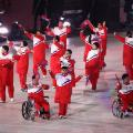 winter paralympics opening ceremony north delegation