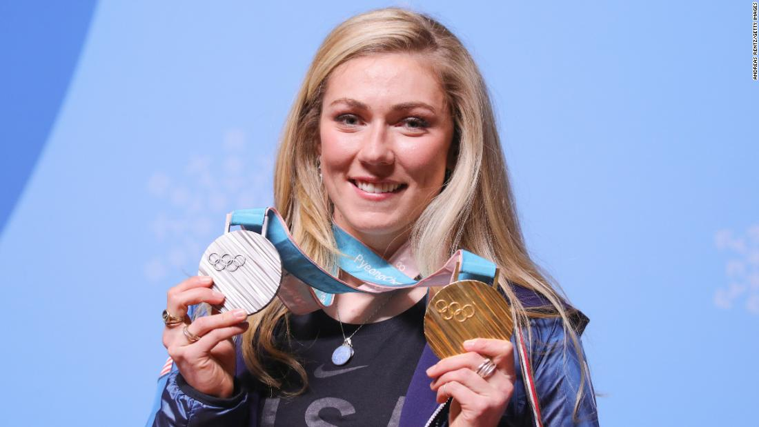 Mikaela Shiffrin makes history with fourth straight slalom gold