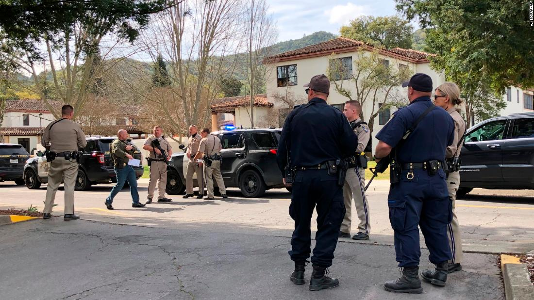 Three women, suspect dead after hostage standoff at veterans home in California