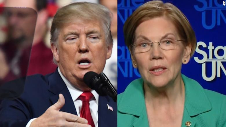 Warren: I want Trump to succeed on N. Korea