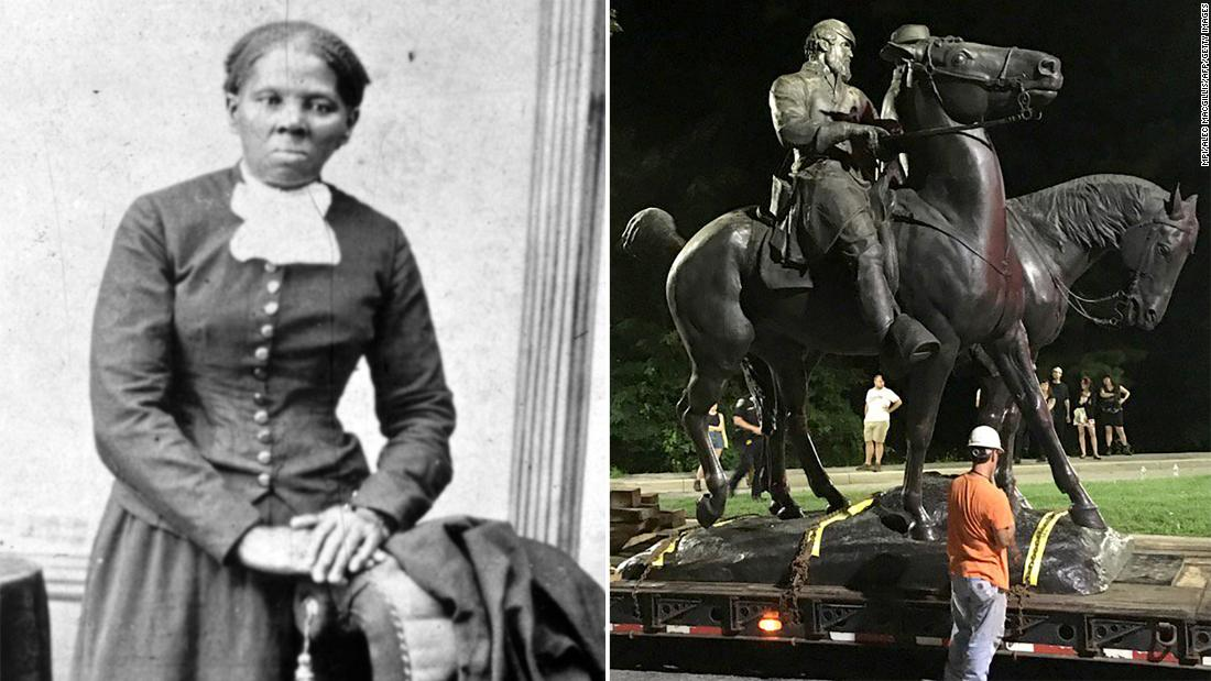 Baltimore renames former Confederate site for Harriet Tubman