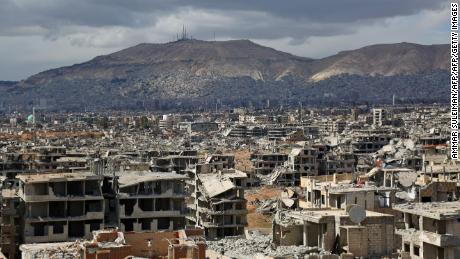 How seven years of war turned Syria's cities into 'hell on Earth'