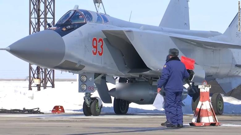 Russian Aerospace Forces conduct a training