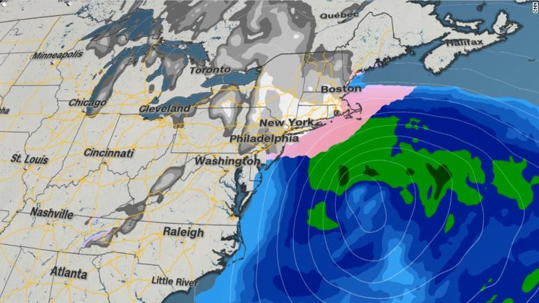 Another Nor Easter Bomb Cyclone Expected In New England New York