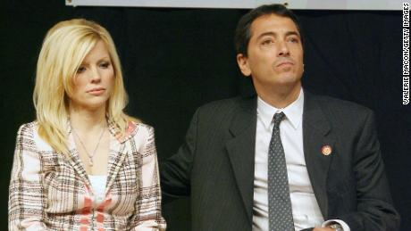 Scott Baio and his wife Renee