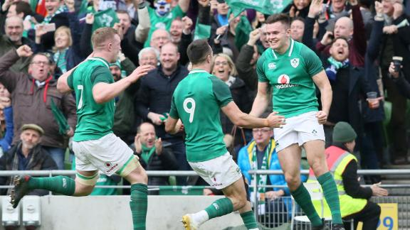 Ireland wrapped up the 2018 Six Nations with a game to spare after defeating Scotland 28-8 in Dublin.