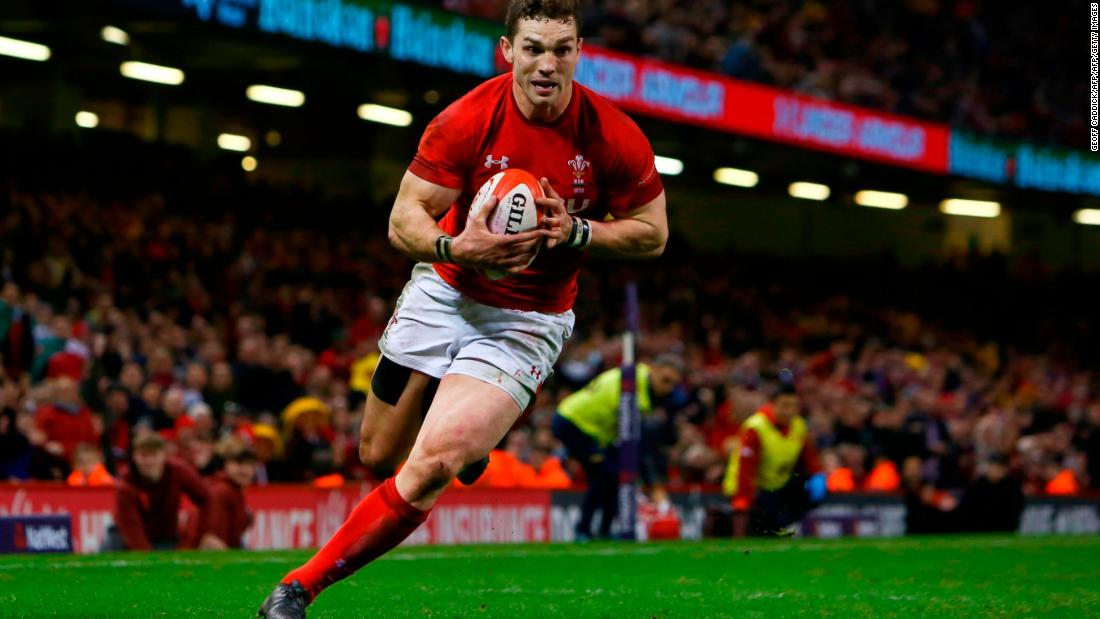 George North made his first start of the campaign, bagging two of his side's five tries.