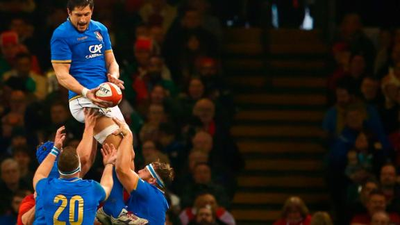 Italy's search for a Six Nations win goes on. The Azzurri did muster two scores in Cardiff through Matteo Minozzi and Mattia Bellini.