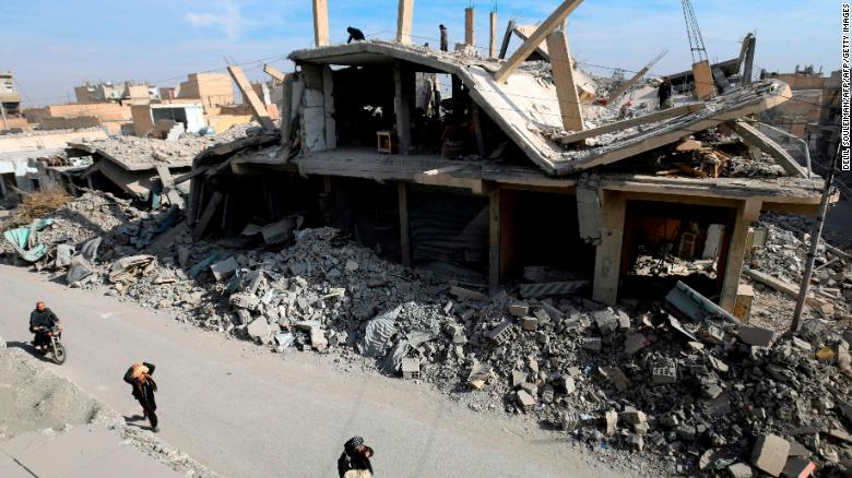 US-led airstrikes in Syria could be war crimes